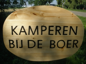 Boerencamping TuinGoed Bonater in Venhuizen, minicamping in Noord-Holland
